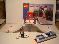 "LEGO SPORTS ~ Gravity Games ~ SET 3536-1 ~ ""SNOWBOARD BIG AIR"" ~ Minifig ~ Lot"
