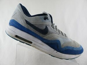 official photos 28c7b 60be3 Image is loading NIKE-Air-Max-1-BR-White-Blue-Sz-