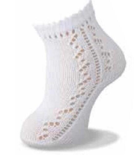 Carlomagno Patterned Ankle sock Ivory sizes16//17-22//23-93//55