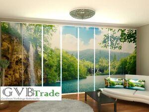 fotogardinen paradi schiebevorhang schiebegardinen vorhang. Black Bedroom Furniture Sets. Home Design Ideas