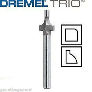 new dremel trio tr615 rounding roundover router bit new. Black Bedroom Furniture Sets. Home Design Ideas