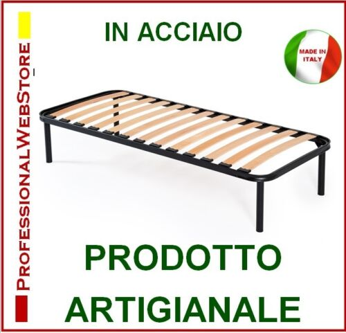 Single bed Network networks Beds Orthopedic Health slatted 80x190x40 cm Italy