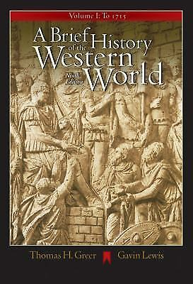 A Brief History of the Western World, Volume I: To 1715 (with CD-ROM and InfoTra