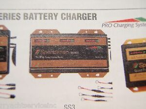 Battery Charger Dual Pro 652 Ss3 Sportsman 30amp 3 Bank