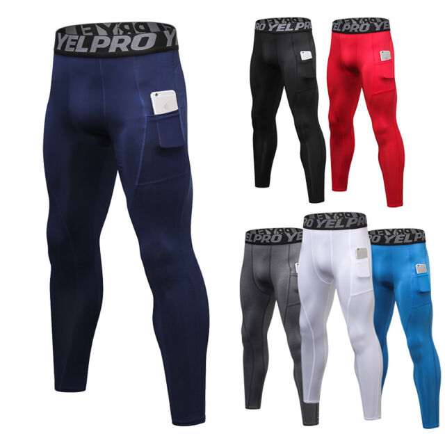 DRSKIN Compression Cool Dry Sports Tights Pants Baselayer Running Leggings Yoga