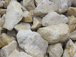178 50 t 1 t jura brocken kalkstein gelb 40 90 mm gabionensteine zierkies ebay. Black Bedroom Furniture Sets. Home Design Ideas