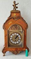 Boulle Clock Westminster Mantel Shelf 8 Day Hermle Rare Big 60cms Vintage 1979