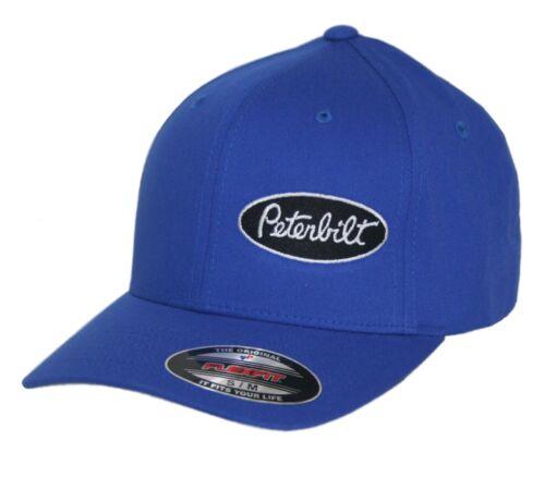 Peterbilt hat cap fitted flexfit curved bill Trucker Truck Rig Diesel Pete