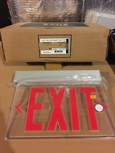 Image Is Loading Lithonia Lighting Lrp 1rc 120 277 Pnl Exit