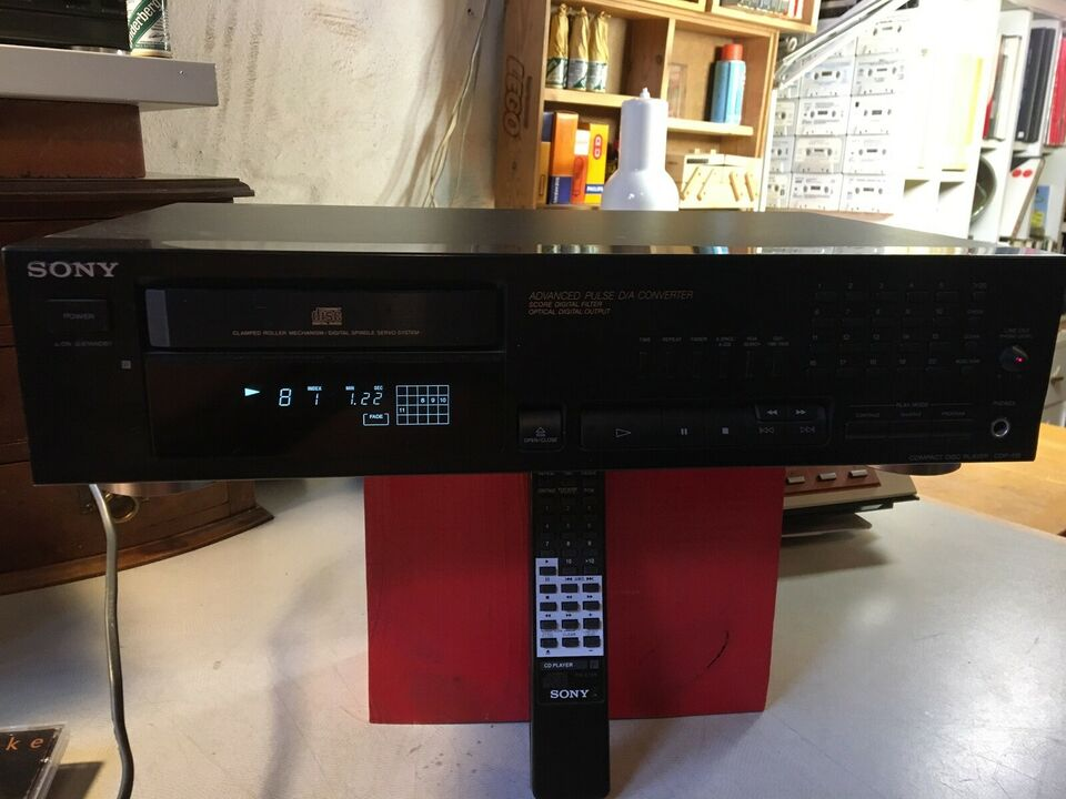 CD afspiller, Sony, cdp-515