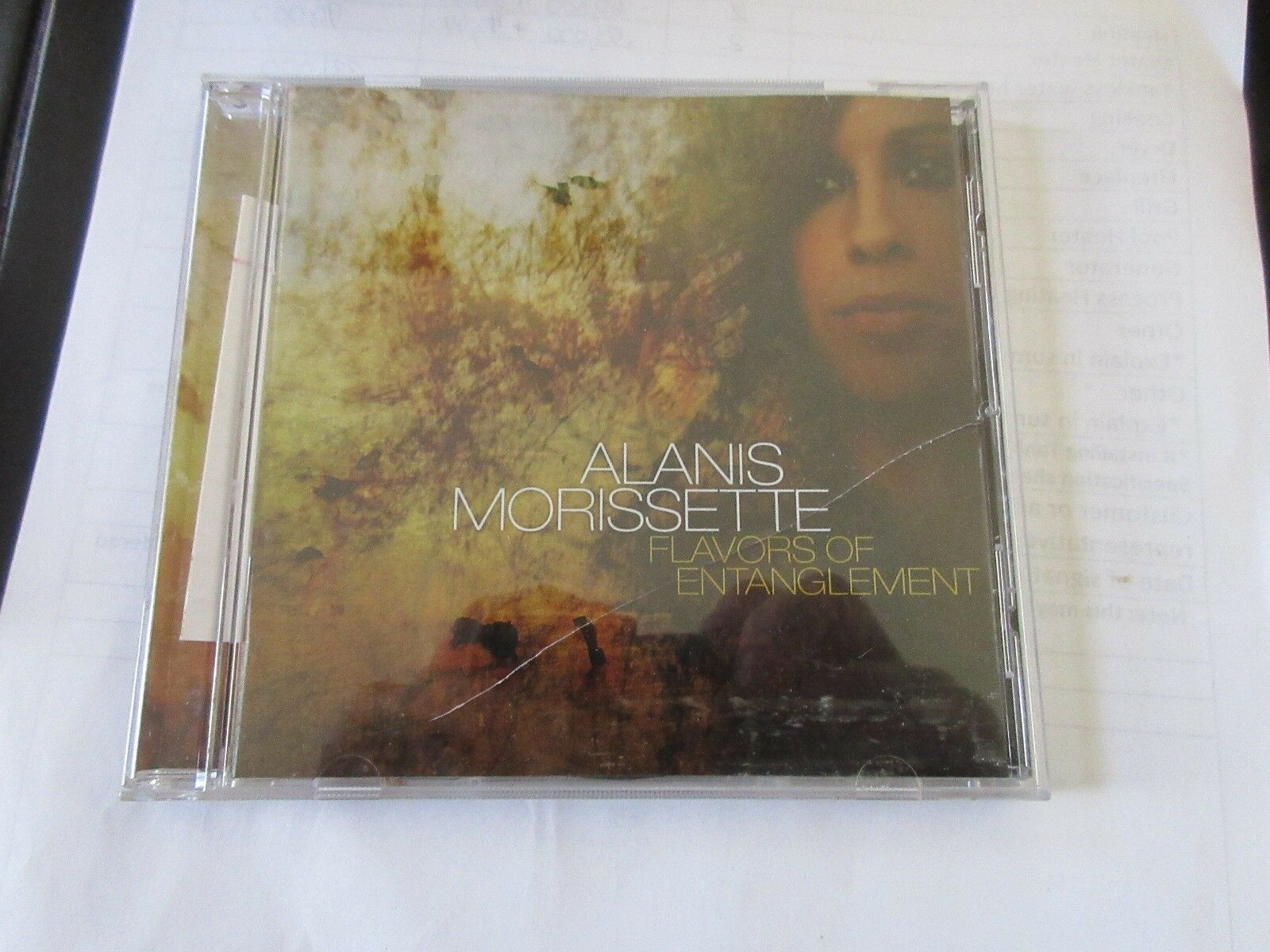 Alanis Morissette , Flavors of Entanglement , CD