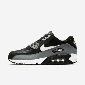 Details about Nike Air Max 90 Essential [AJ1285 018] Men Casual Shoes BlackWhite Grey