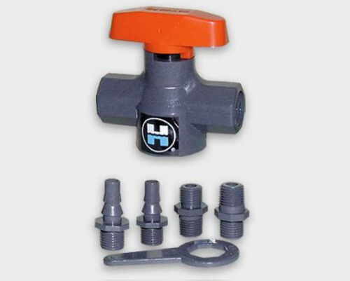 HAYWARD LC12 Universal Stopcock Valve w//EPDM Seals w//6 End Connectors 10-PACK