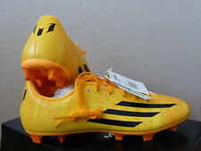 Men's Adidas Messi F5 FG  Football Boots M17671 yellow color  size 9  BNWB