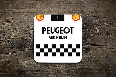 Cosciente Peugeot Retrò Jersey Sottobicchieri Coaster-bike Ninja Ciclismo Su Strada Jersey In Stile Retrò- Forte Resistenza Al Calore E All'Usura Dura