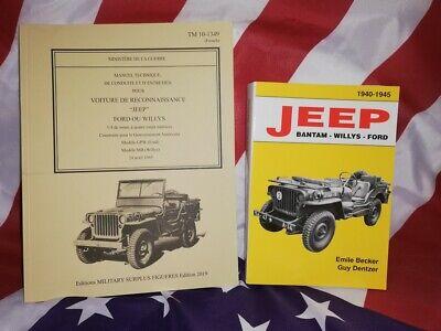Ford de 1943 TRUCK WW2 MILITARIA Revue manuel technique TM 10-1349 JEEP WILLYS