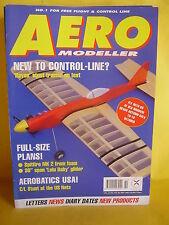 """AEROMODELLER SEPTEMBER 1997 # 742 LULU BABY 30"""" PLAN WEE GEE BEE KEN BLAKE"""