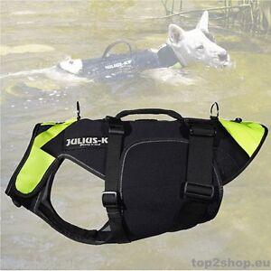 Julius-K-9-IDC-3in1-Schwimmweste-Hunde-Weste-Gehhilfe-Regenmantel-Hundemantel
