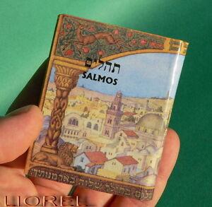 Pequeno-Salmos-Libro-Hebrew-Hebreo-amp-Espanol-Spanish-Biblia-Israel-Judia-Book