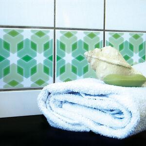 Detalles de ORIGINAL BOUBOUKI Pegatina/Adhesivo de azulejo para cuarto de  baño o Cocina