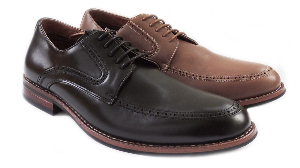 NEW FERRO ALDO MENS LACE UP OXFORDS CLASSIC LEATHER LINED DRESS SHOES 19520L