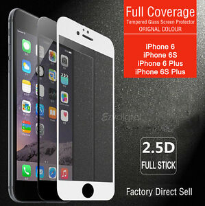 Full-Coverage-Tempered-Glass-Screen-Protector-For-Apple-iPhone-X-6S-7-8-Plus