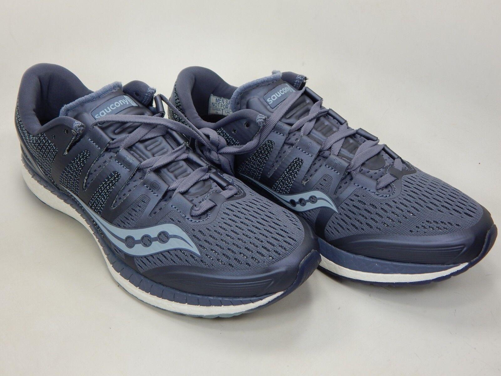 ec3b8110fea Saucony Liberty ISO Size 9 M (D) (D) (D) Men s Running Shoes Grey ...