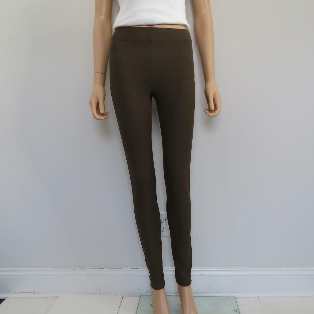 Neuf avec étiquettes Joseph tourbe marron gabardine stretch Leggings pantalon taille 34 320