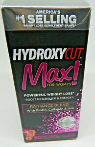 HYDROXYCUT MAX ! For Women Powerful Weight Loss, 60 Liquid Capsule. FRESH