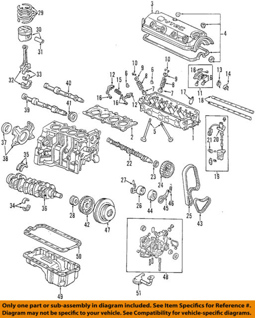 2002 honda accord undercarriage diagram circuit diagram symbols \u2022 2002 honda accord caliper bolt honda accord 98 02 paa f23a1 vtec sohc 2 3l engine cylinder head rh ebay com 2002 honda accord rear suspension diagram 2002 honda accord exhaust diagram