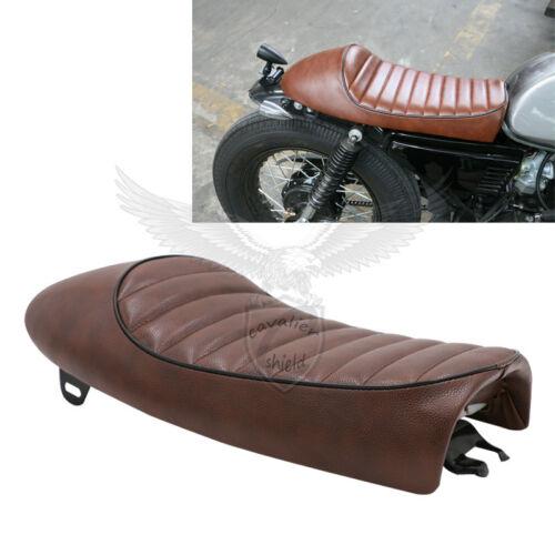 Motorcycle Flat//Hump Cafe Racer Seat  For Honda CB 650 400 KAWASAKI KZ 550 750