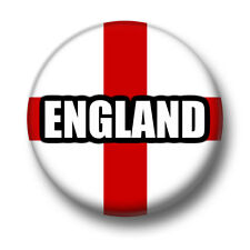 England 1 Inch / 25mm Pin Button Badge English National Flag Football Pride Fun