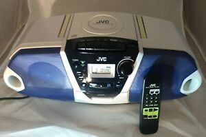 RARE! Mint Vintage JVC RC-QN1 AM/FM Radio CD Cassette Tape Player Boombox Stereo