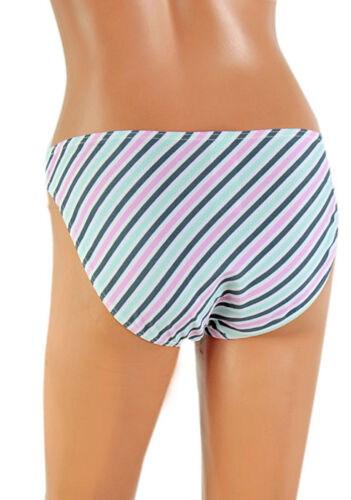 Ladies Multi Stripe or White Bikini Bottoms New With Tags Size 10-16