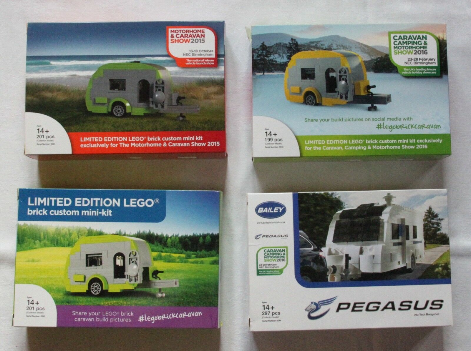 LEGO motorhome & Caravan show 4 MECCANO Certified Professional Limited Edition