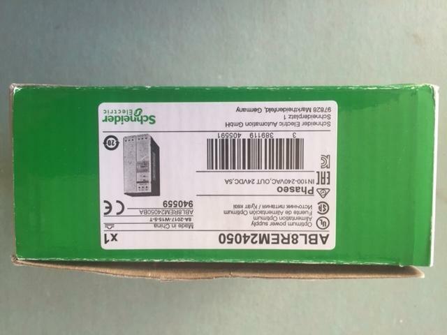 Schneider Electric ABL8REM24050 Power Supply 5a 24vdc for sale online