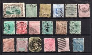 British Commonwealth QV unchecked collection WS21059