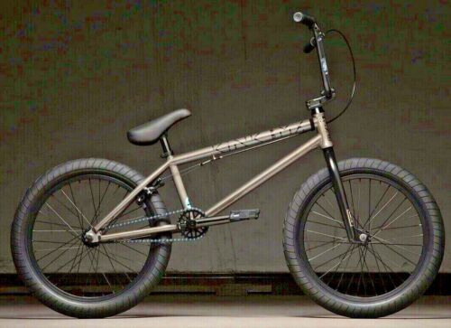 """Gloss Raw Holographic 20/"""" Complete BMX Bicycle 20.25/"""" TT 2020 Kink Launch"""