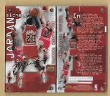 99 MICHAEL JORDAN Authentic Images 24Kt Gold Signature /2,300 NBA Career Tribute