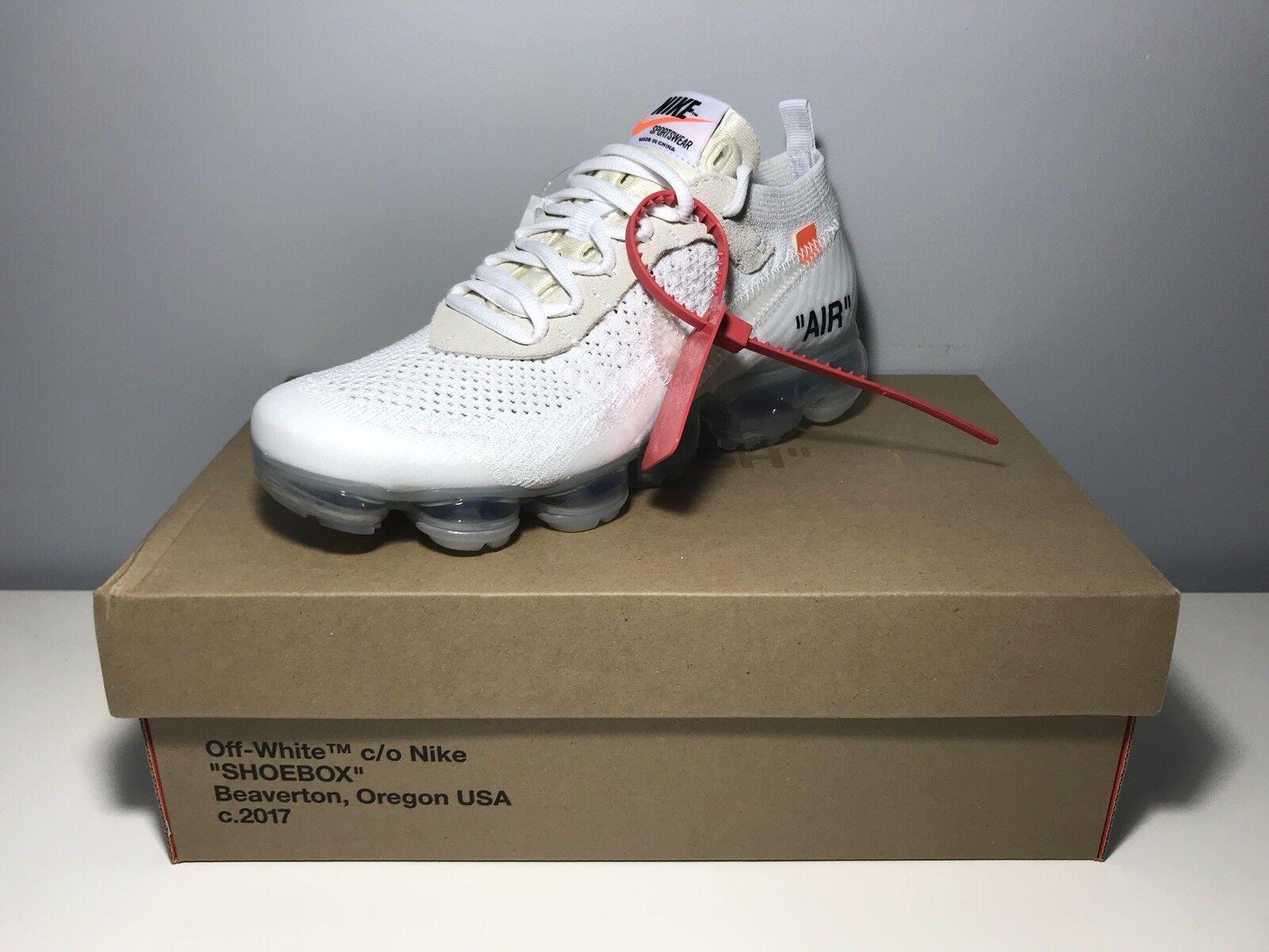 Off White × Nike Vapormax 2.0 White/Size US 7