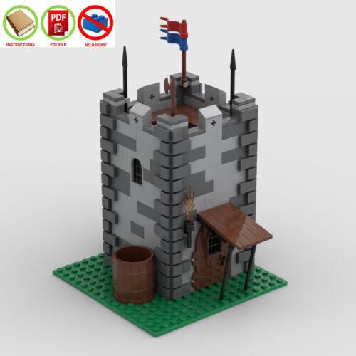 NO BRICKS Watchtower 466 pcs LEGO MOC PDF Instructions