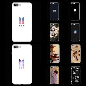 KPOP BTS Bangtan Boys Soft TPU Phone Case Cover For iPhone 6 6s 6P 7 8 7P 8P X