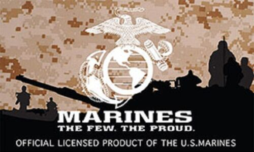 US Marine Corps T-Shirt Eagle Globe and Anchor Grey EG/&A Licensed USMC GRAY S-3X