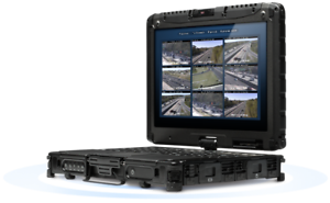 RUGGED-Getac-V200-2-in-1-Laptop-i7-L620-2-0Ghz-CPU-8GB-RAM-128GB-SSD-GOBI-GPS