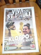 Programm FC St.Pauli - Borussia Dortmund (P) 14/15