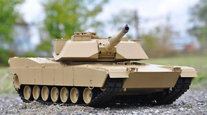 7aec8793af77d Heng Long 1/16 M1A2 Abrams RC Tank With Smoke, Sound and BB ...