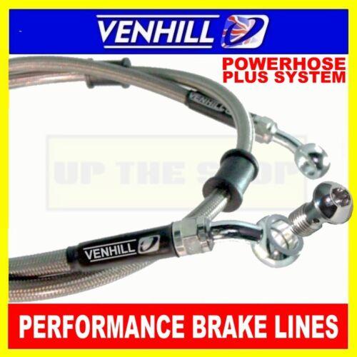 400mm Custom Stainless steel braided Powerhose Plus brake line hose VENHILL