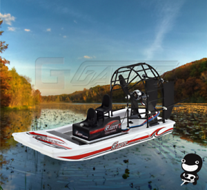 High Speed Swamp Dawg Rc Air Boat Kit Combo 1 Remote Control Toys Beach Water Ebay