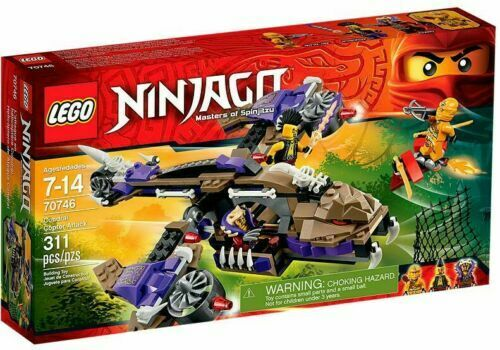 LEGO 70746 Ninjago Condrai Copter Attack Set NEW SEAL