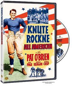 Knute-Rockne-All-American-1940-Ronald-Reagan-Region-2-UK-DVD-New